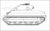 USMC M4A2 Late Tank Pacific Theater (2 in 1)