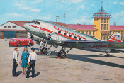 Douglas DC-3 Trans World Airlines