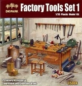 Factory Tools Set: Worktable & 73 Tool Accessories