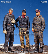 1/72 WWII German Officers (Late War)