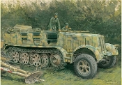 Sd.Kfz.7 8(t) Typ HL m 11 1943 Production