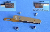 Universal Saw Holder w/screws & nuts (use w/hobby knife #1 handle)
