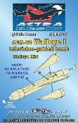 1/48 AGM62 Walleye I Mk 1 Television-Guided Bomb (Resin Armament)