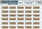 1/35 Modern english ration boxes Multiclimate