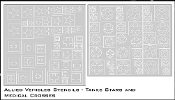 1/35 Allied Vehicles Stencils - Stars and Red Crosses