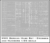 1/35 German Crosses and Numbers
