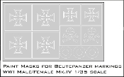 1/35 Mk.IV Beautepanzer Markings