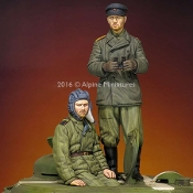 1/35 WW2 Russian Tank Crew Set