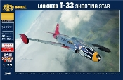 T33 Shooting Star Jet Trainer Aircraft
