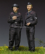 1/35 German Panzer Crew Set