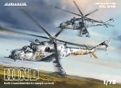 Mi24 Hind Helicopter in Czech & Czechoslovak Service Dual Combo (Ltd Edition Plastic Kit)