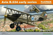 Avia B534 Early Series BiPlane Fighter Dual Combo (Prof-Pack Plastic Kit)