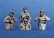 1/35 U.S. WW2 Tank Crew (Winter Dress)