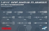1/48 US Short Range Air-to-Air Missiles