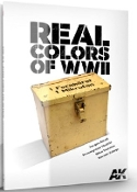 Real Colors of WWII Book