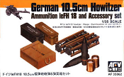 German 10.5cm Howitzer Ammo & Accessory Set
