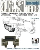 SdKfz 251/SdKfz 11 Late Model Workable Track Links