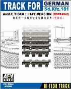 German SdKfz 181 Ausf E Tiger I Late Workable Track Links