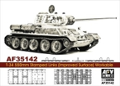 T34 550mm Workable Stamped Track Links (Improved Surface)