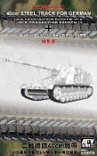 PzKpfw III Late/IV Mid 40cm Steel Type Workable Track Links