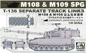US M108 & M109 SPG T136 Separate Track Links