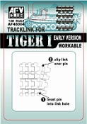 Tiger I Early Version Workable Track Links