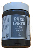 200ml Bottle Dark Earth Effect