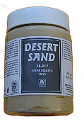 200ml Bottle Desert Sand Earth Effect
