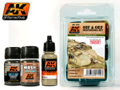 OIF & OEF Modern US Vehicles Weathering Enamel Paint Set