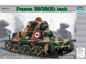 French 35/38(H) Tank w/37mm SA18 L/21 Gun