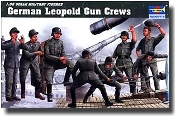 German Leopold Railway Gun Crew Figure Set (8)