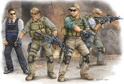 PMC VIP Protection Team in Iraq Figure Set (4)