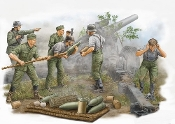 German Field Howitzer Firing Crew Figure Set (5)