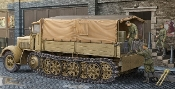German SdKfz 7 8-Ton Halftrack Late Version