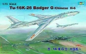 TU16K26 Badger G Twin Engine Jet Bomber (Chinese H6)