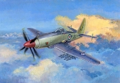 Wyvern S4 Early Version British Fighter