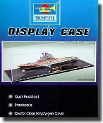 "Showcase for 1/700 Ships (19.6""L x 5.8""W x 4.5""H) Black Base"