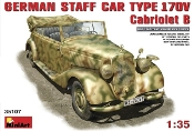 German Type 170V Convertible Staff Car
