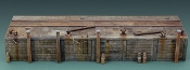 "Long Dock in 1/35 scale 2 11.8"" modular sections"