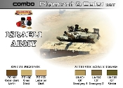 Israeli Army Pigment & Color Acrylic Set (6 22ml Bottles)