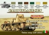 Italian WWII Army Camouflage Acrylic Set (6 22ml Bottles)