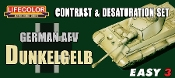 German AFV Dunkelgelb Contrast & Desaturation Acrylic Set