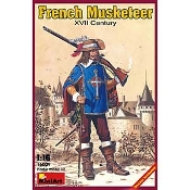 French Musketeer XVII Century