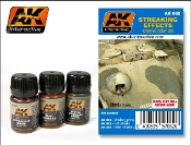 Streaking Effects Enamel Paint Set (12, 13, 14)