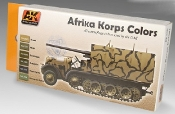 Afrika Korps Camouflage Acrylic Paint Set (6 Colors) 17ml Bottles