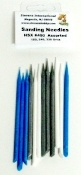 Assorted Sanding Needles (4ea of 3 diff grits/Bag)
