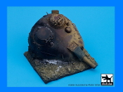 1/35 Destroyed T55 turret Iraq base