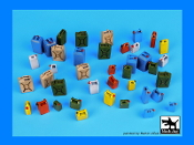 1/35 Modern plastic cans accessories set