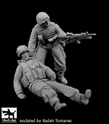 1/35 US soldiers patrol operation FREEDOM
