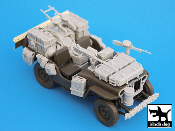 1/35 British SAS jeep Africa